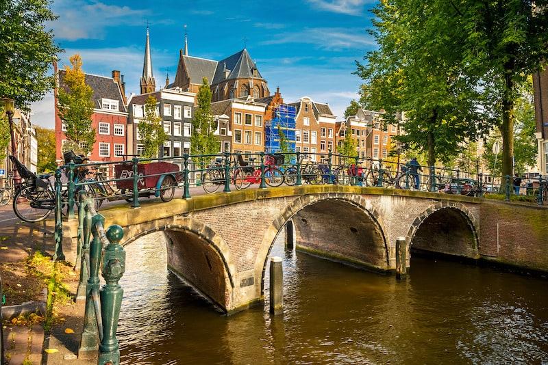 Jordaan Mahallesi Amsterdam