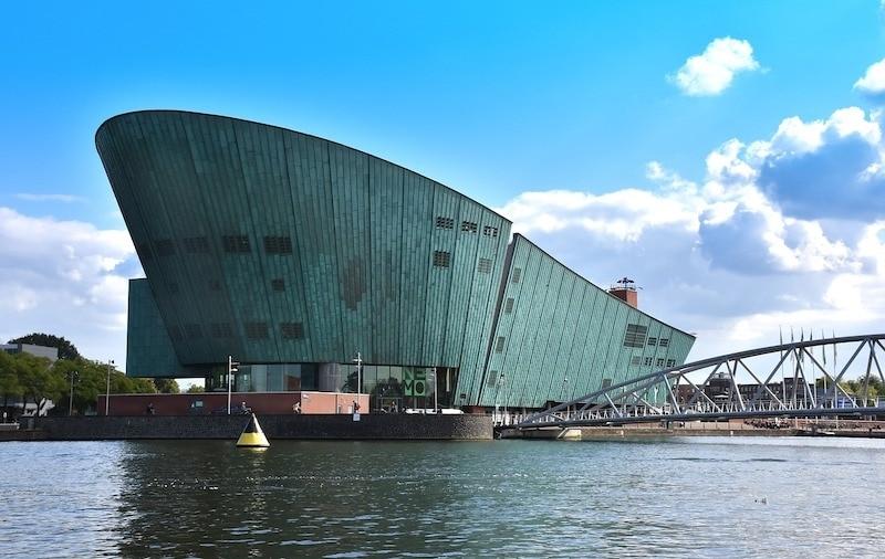 NEMO - Bilim Merkezi Amsterdam Gezilecek yerler