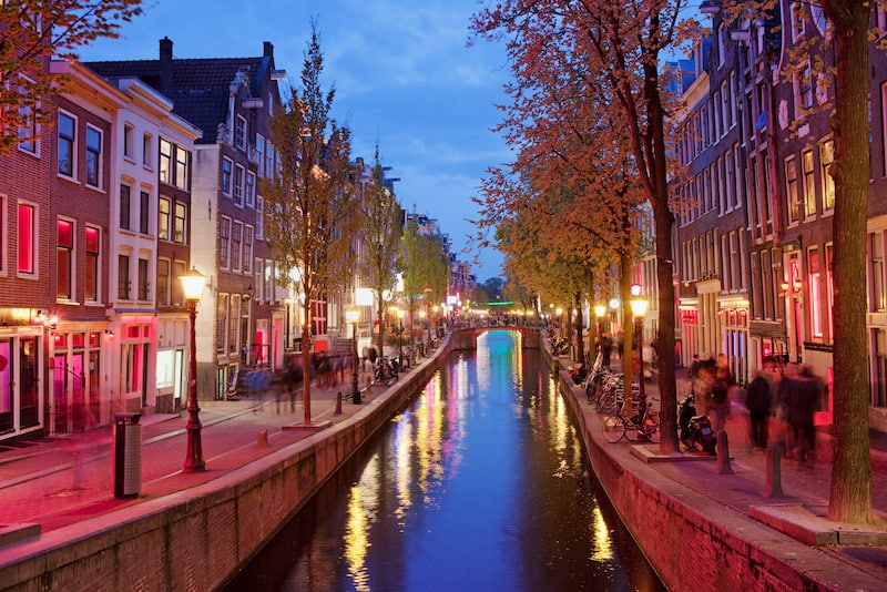 Red Light District - Amsterdam Gece Hayatı