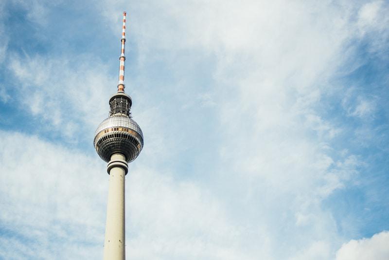 Berliner Fernsehturm - Berlin TV Kulesi