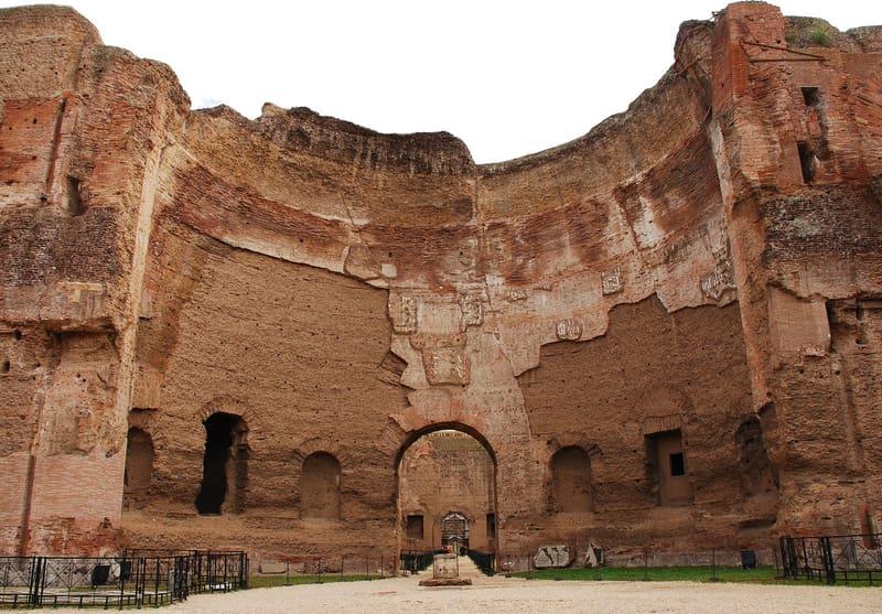 Caracalla Hamamları Roma