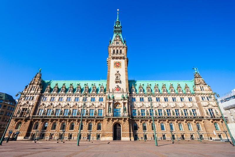 Hamburg Belediye Sarayı - Almanya