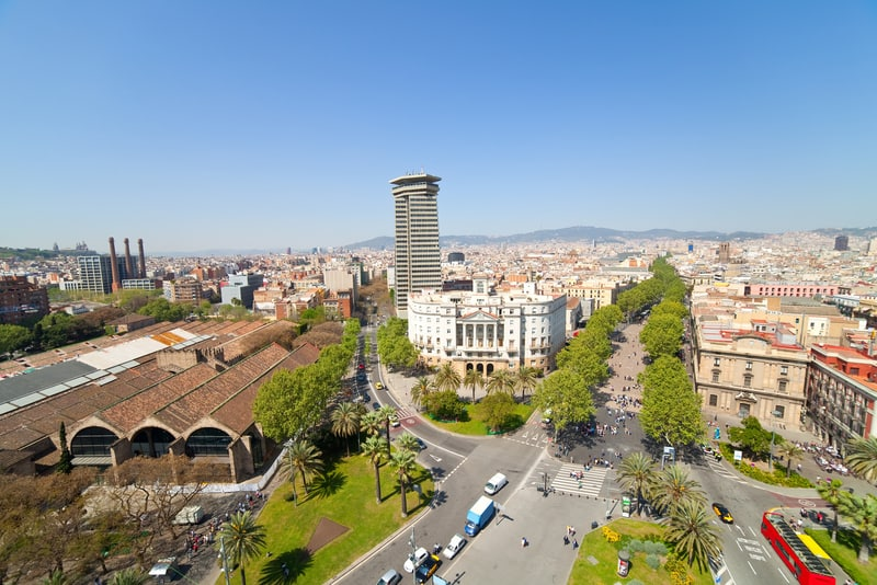 Las Ramblas Barselona
