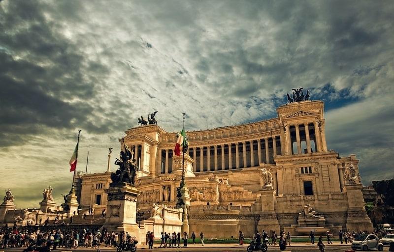 Piazza Venezia - Venedik Meydanı Roma
