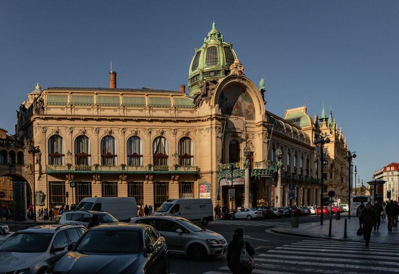 Prag da Görülecek Yerler Belediye Binası