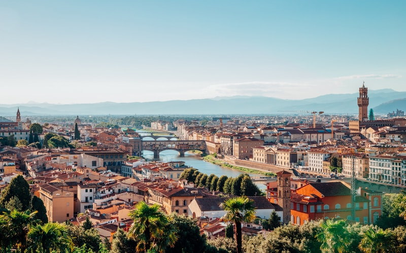 Michelangelo Meydanı Floransa