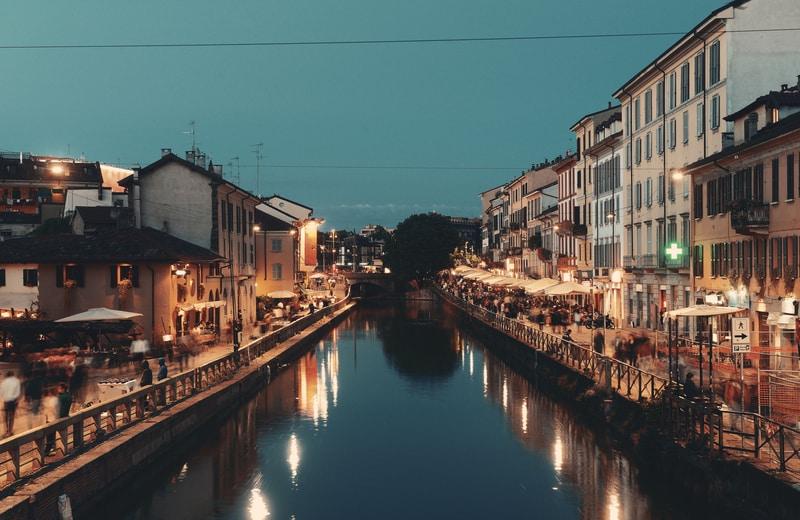 Milano Navigli Bölgesi