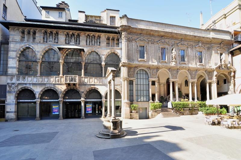 Piazza Mercanti - Milano da Gezilecek Yerler