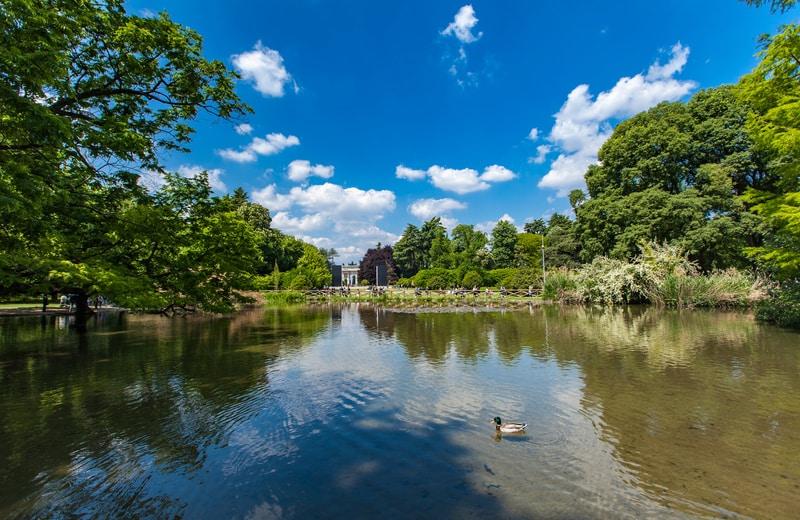 Sempione Parkı - Milano Gezilecek Yerler Blog
