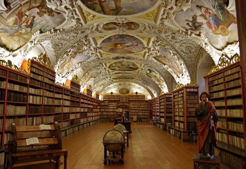 Strahov Kütüphanesi - Prag da görülmesi gereken yerler