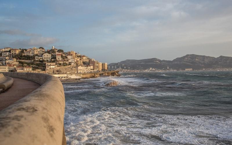 La Corniche - Marsilya Gezilecek Yerler