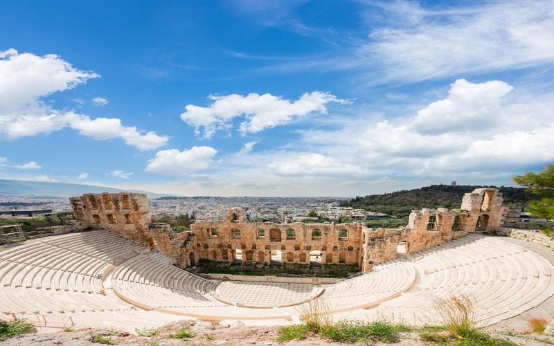 Herodes Attikus Odeonu - Atina Gezilecek Yerler