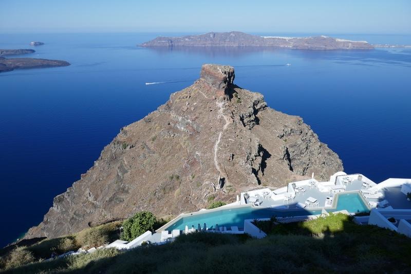 Skaros Kayası - Santorini de Gezilecek Yerler