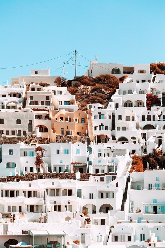Santorini de Gezilecek Yerler