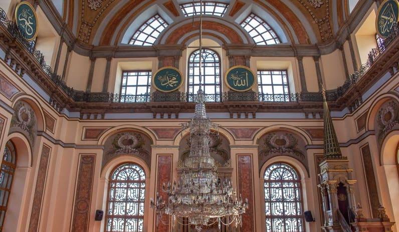 Dolmabahçe Camii İçi