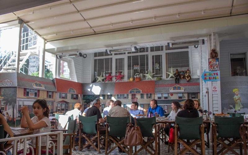 Müze Cafe'de Kahvaltı