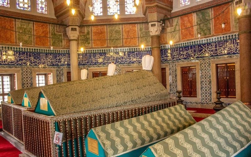 Kanuni Sultan Süleyman Türbesi