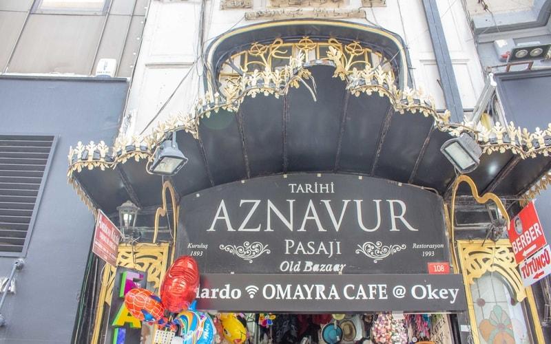 Aznavur pasajı - istiklal caddesi gezilecek yerler blog