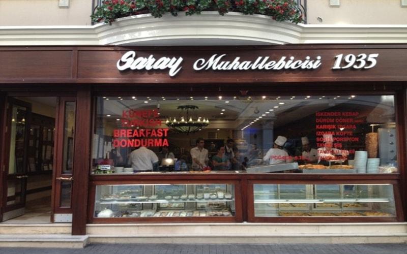 Saray Muhallebicisi - İstiklal Caddesi Gezilecek Yerler