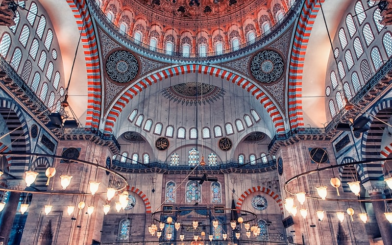 Süleymaniye Camii İçi