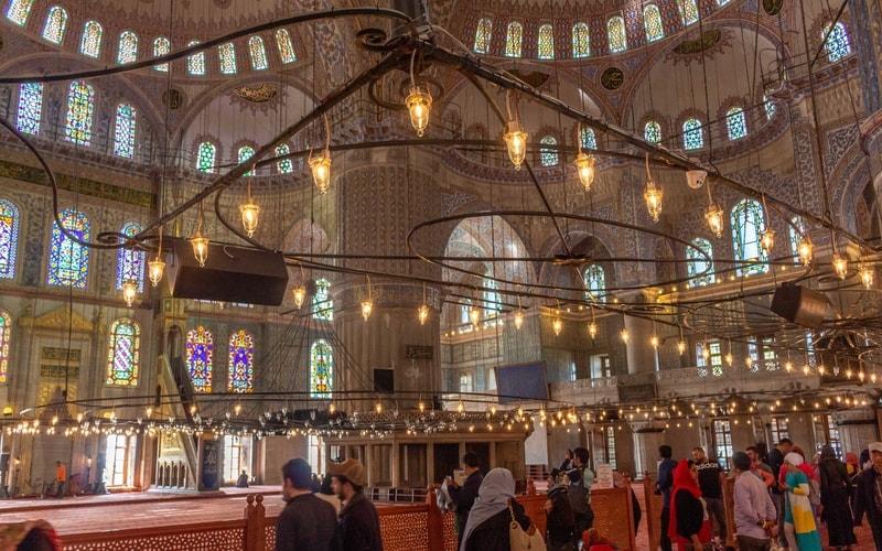 Sultanahmet Camii İçi