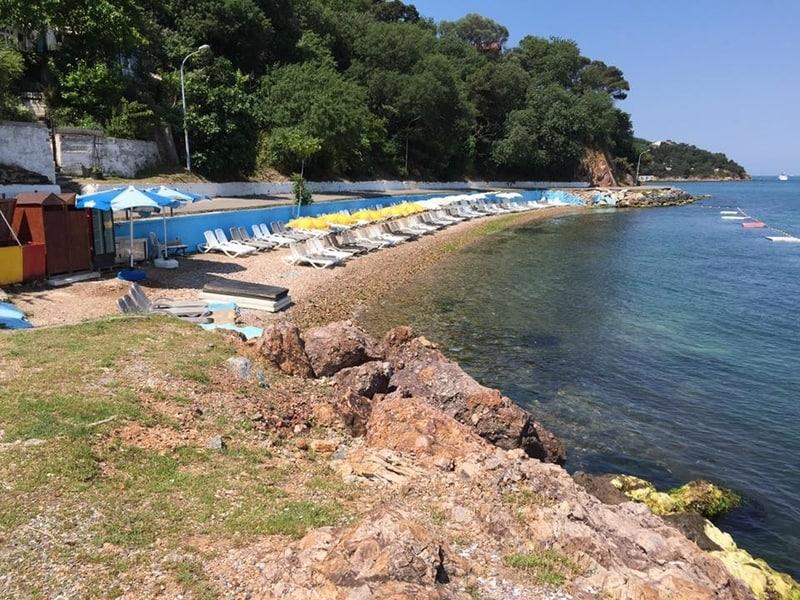 Çamakya Aile Plajı - Burgazada plajları