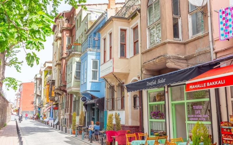 Tarihi Balat Sokakları - Balat Gezilecek Yerler