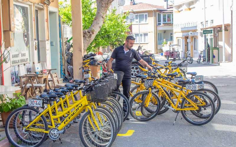 Heybeliada Bisiklet Kiralama