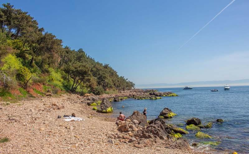 Kalpazankaya Plajı Burgazada