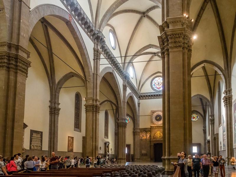 Floransa Katedrali İçi
