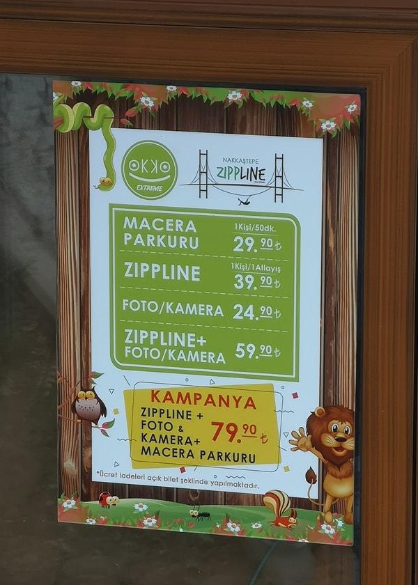 Nakkaştepe Millet Bahçesi Fiyatlar