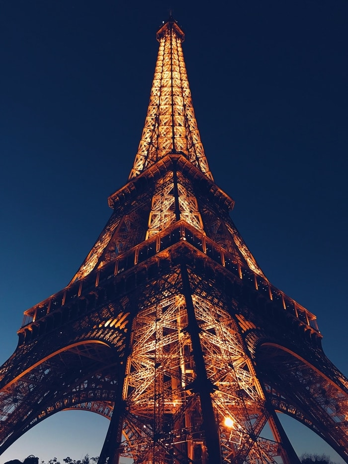 Eyfel Kulesi Gece