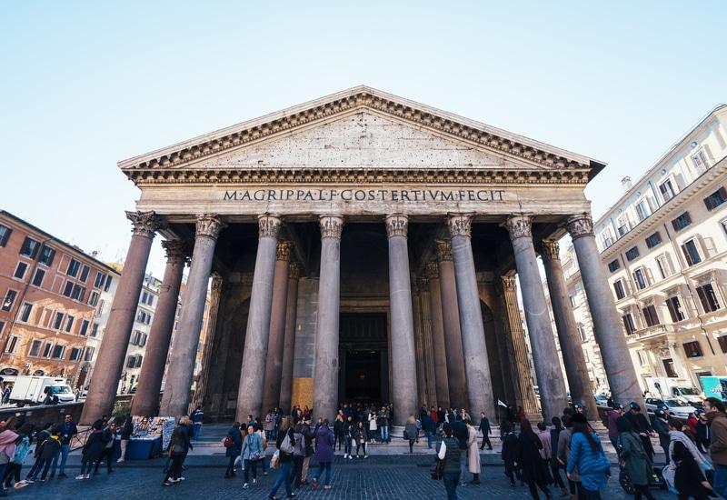 Roma Pantheon Mimarisi