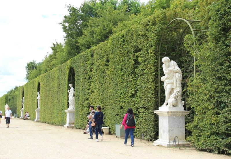 Versay Sarayı Bahçeleri