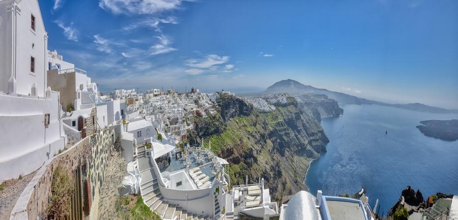 Santorini gezilecek yerler blog