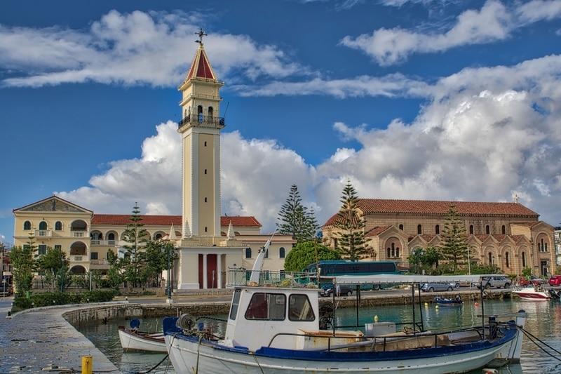 Agios Dionysios Kilisesi - Zakynthos Adası