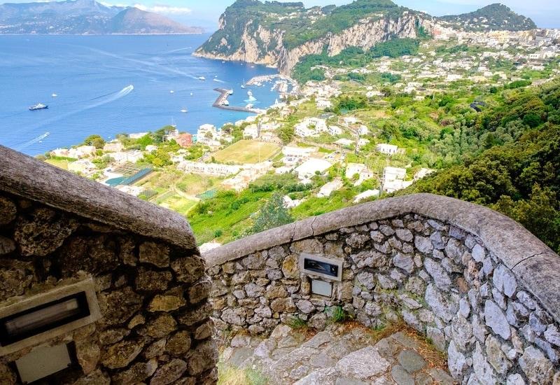 (Fenike Merdivenleri) - Capri Adası Gezi Rehberi
