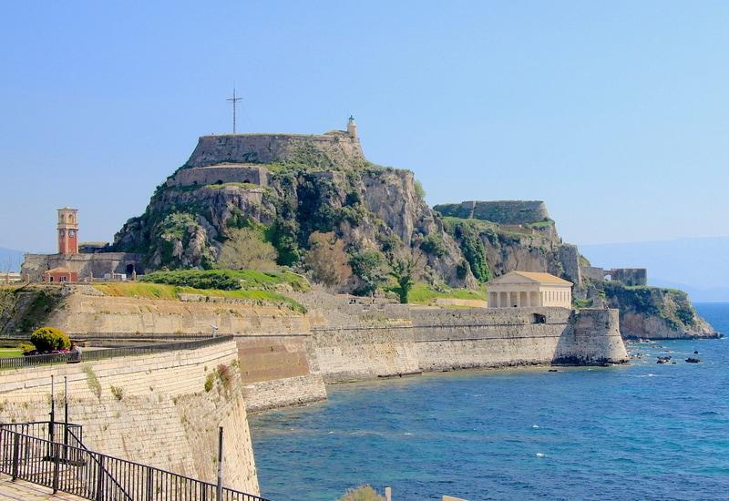 Korfu Eski Kalesi - Korfu Adası Gezi rehberi