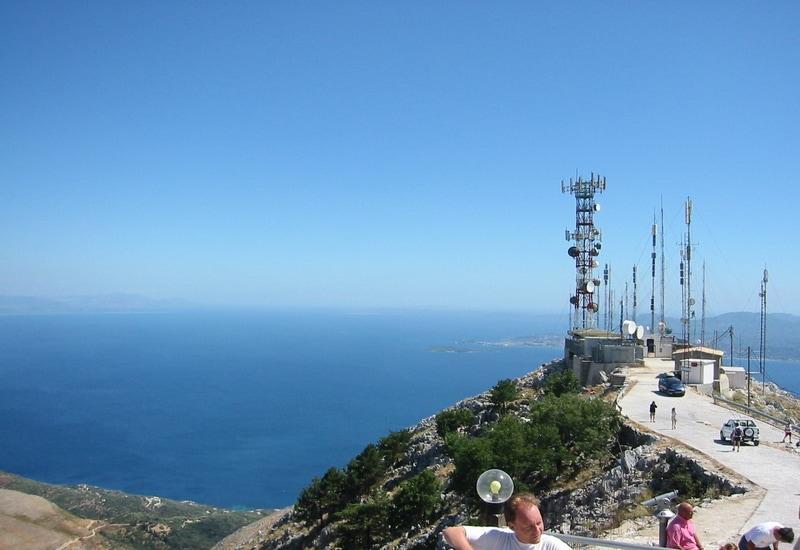 Pantokrator Dağı - Korfu Adası Gezilecek Yerler