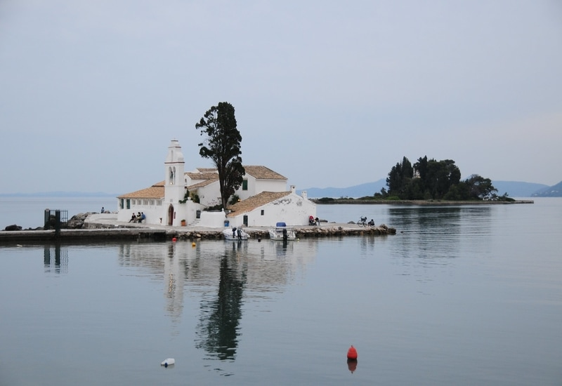 Vlacherna Manastırı - Korfu Adası