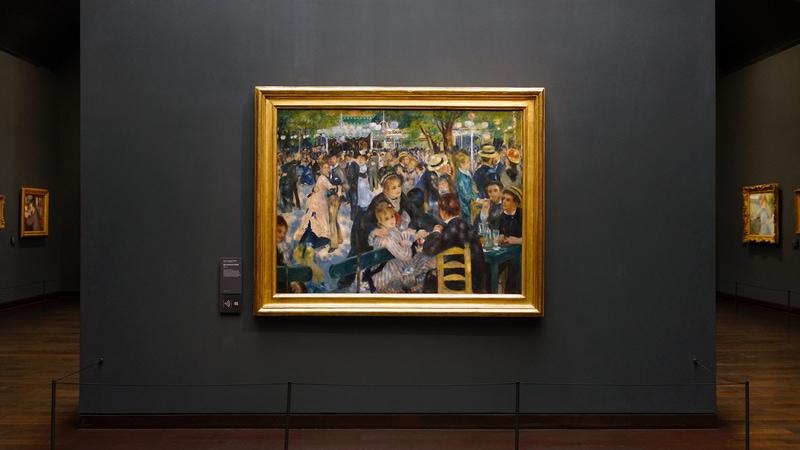 Musee d'Orsay Tablolaları