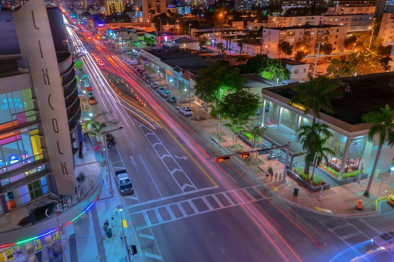 Lincoln Caddesi - Miami de Gezilecek Yerler