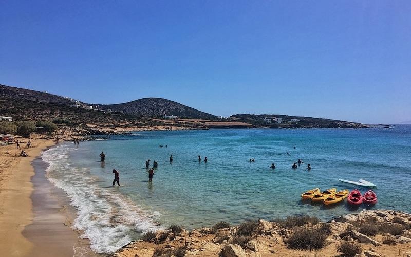 Paros Adası Plajları
