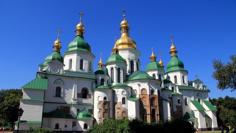 Kiev Gezisi - Aziz Sofya Katedrali
