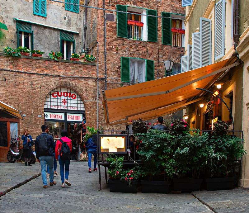 Siena da Alışveriş
