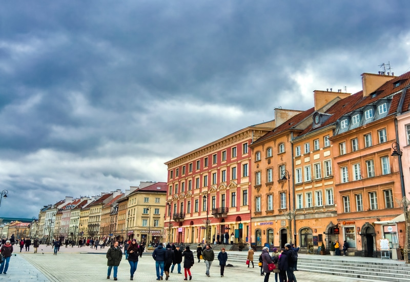 Varşova da Gezilecek Yerler