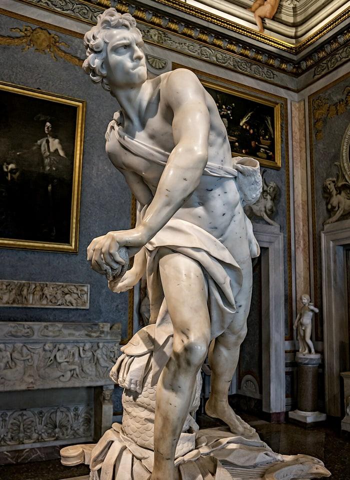 Borghese Galerisi Heykelleri