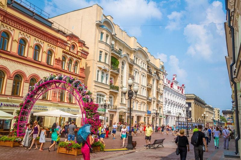 Moskova da nerede kalınmalı