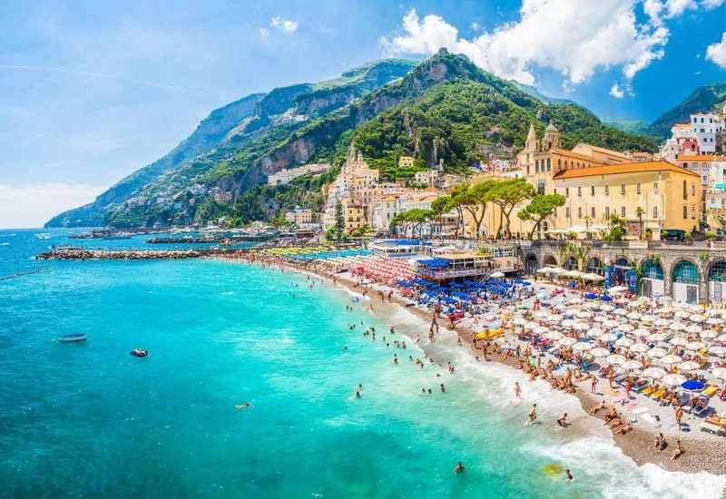 Amalfi de nerede kalmalı