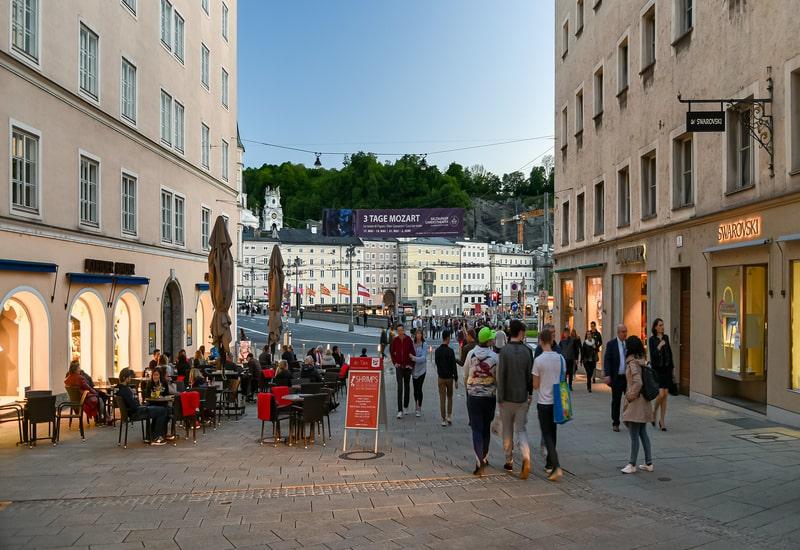 Salzburg da nerede kalmalı